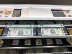 US Currency & Silver Certificate Dollar Bills