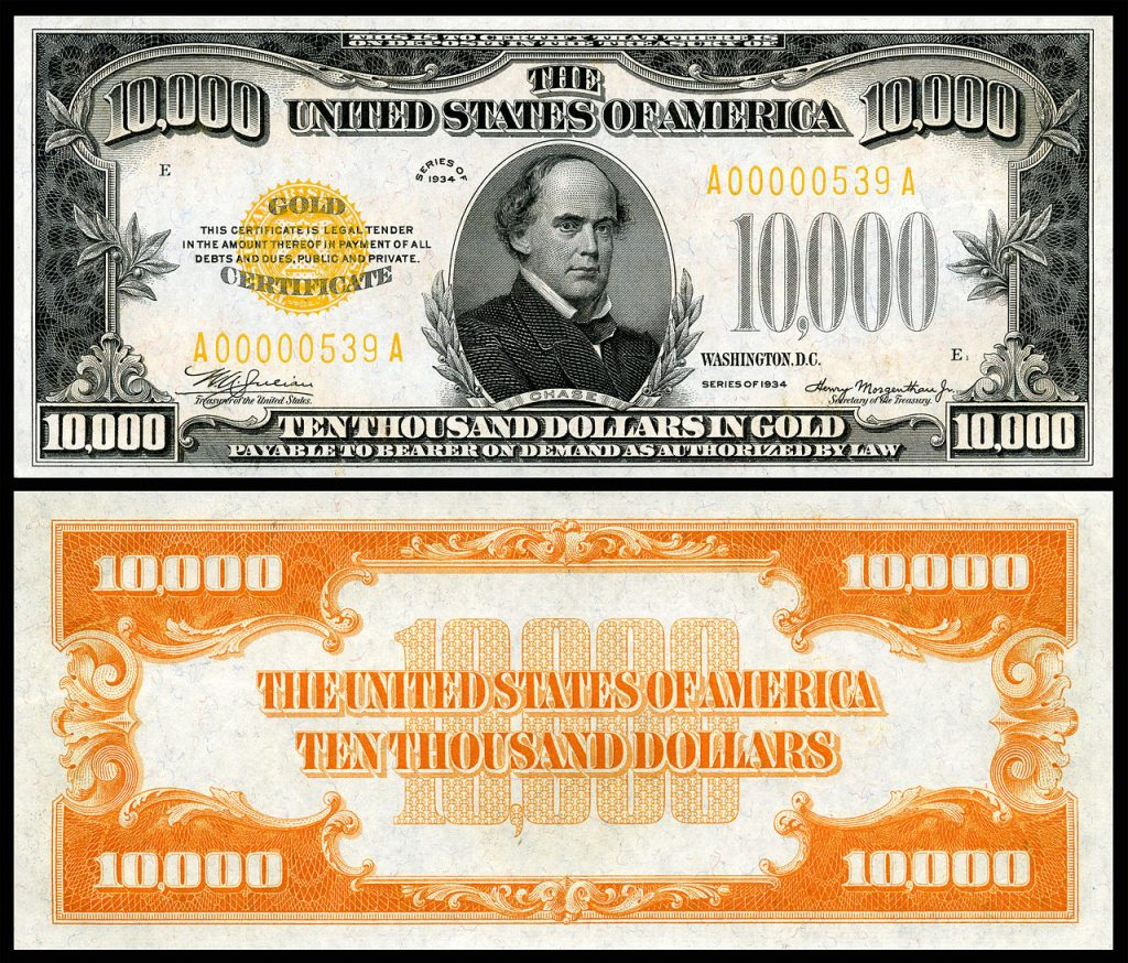 US Notes and Silver Dollar Certificates